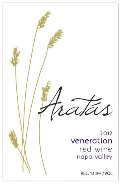 "Aratas 2012 ""Veneration"" Red Blend"