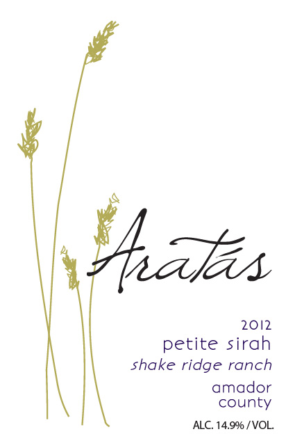 2012 Aratas Shake Ridge Ranch Petite Sirah