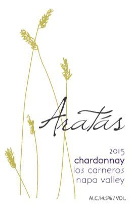 2015 Aratas Carneros Chardonnay