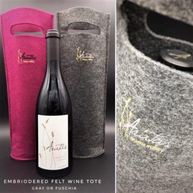 ARatas wine tote