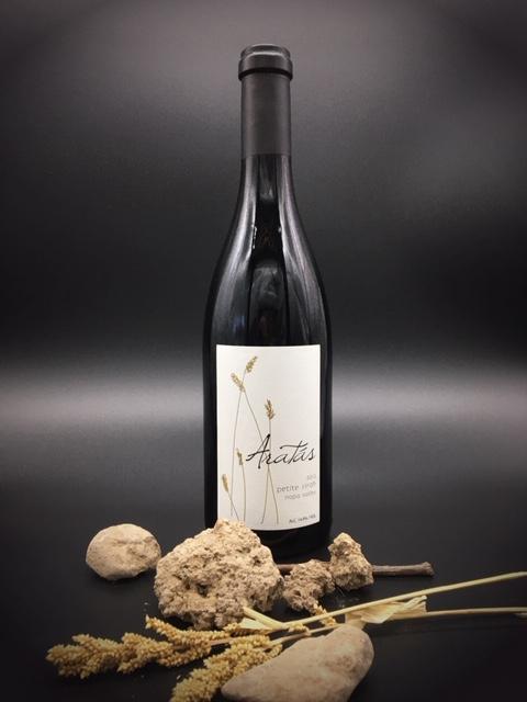2012 Aratas NV Petite Sirah bottle