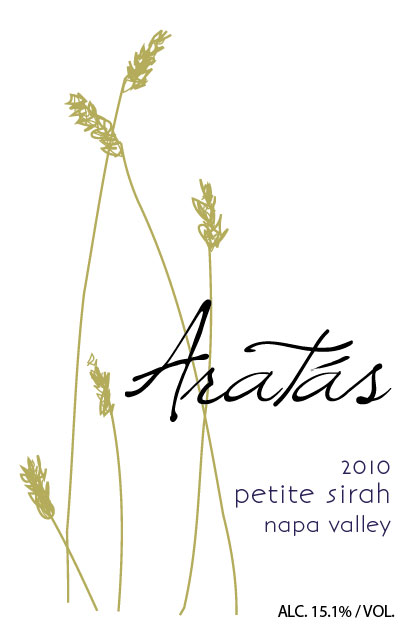 2010 Aratas Napa valley Petite Sirah Collector's Edition Magnum