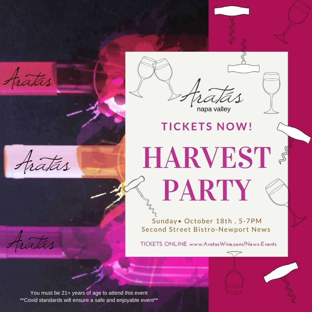 Aratas harvest party 2020